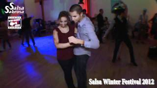 Fred Dancefloor & Roxane - social dance @ Salsa Winter Festival 2012