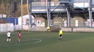 preview picture of video 'MFK Ružomberok vs FK Senica 2:1 U19  10/11/2012'