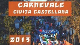 preview picture of video 'CIVITA CASTELLANA CARNEVALE CIVITONICO 2013 SFILATA DEL 3 FEBBRAIO 2013.wmv'