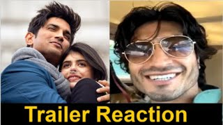 Vidyut Jammwal REACTION On Sushant Singh Rajput's Dil Bechara Trailer