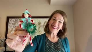 How To Make A Felt Elf Girl DIY Christmas Ornament