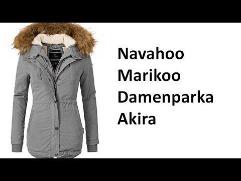 Marikoo Damen Mantel Wintermantel Winterparka Akira - Review | deutsch / german