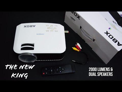 Best NEW Amazon Mini LED Projector – A BOX T22
