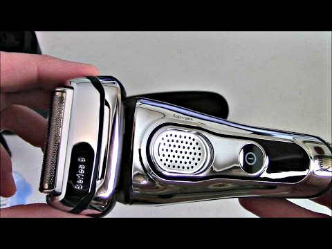 Braun Series 9 9095CC Wet/Dry Electric Shaver Unboxing/Review