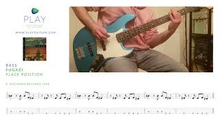 Fugazi – Place Position (Bass) with tab