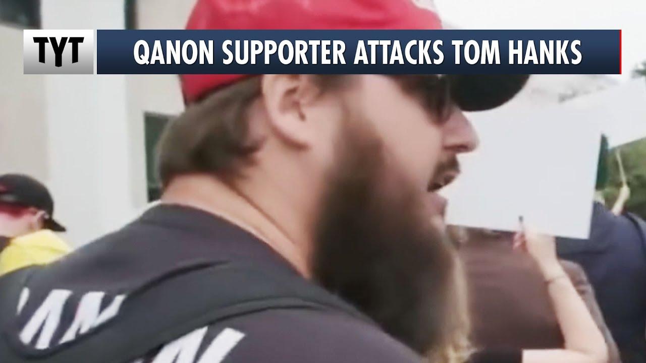 QAnon Supporter Attacks Tom Hanks thumbnail