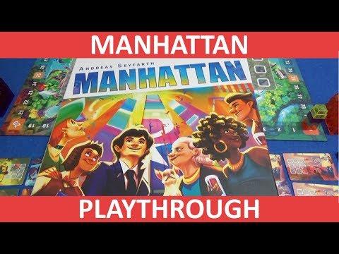 Manhattan - Playthrough - slickerdrips