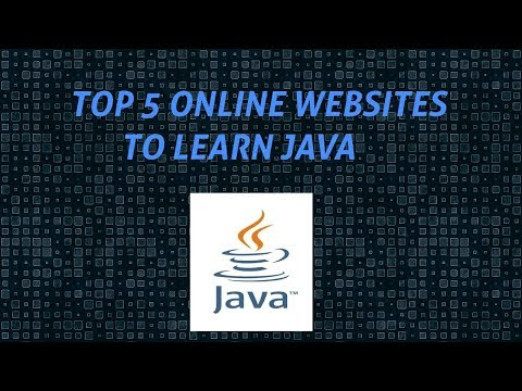 Top websites to learn Java for Free(2018)