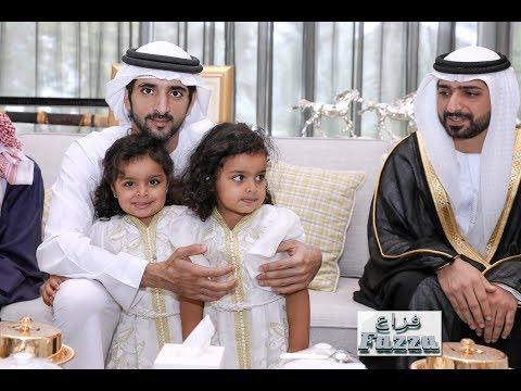 Sheikh Hamdan (فزاع Fazza) attends wedding reception
