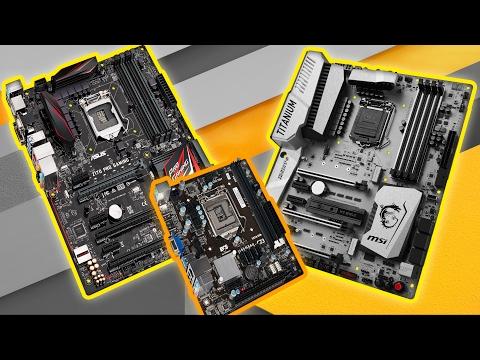 Chipset Placas Base ¿Cuál es la diferencia? z270, h270, b250, h110, z170...