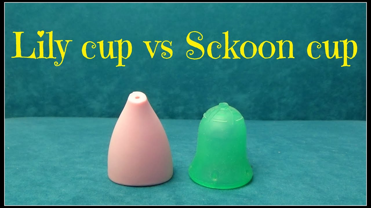 Lily cup vs Sckoon cup