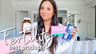 PRODUCTS WE USED TO GET PREGNANT ON THE FIRST TRY!! | PRESEED, PRENATALS & MORE