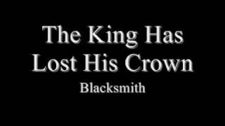 the king has lost his crown