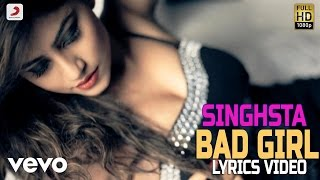 Singh Sta - Bad Girl | Lyrics Video - YouTube