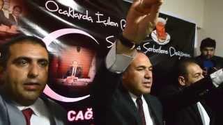 preview picture of video 'Ülkü Ocakları Ceyhan İlçe Başkanlığı - Hüseyin Sözlü Ziyaret - Ülkücü Yemini'