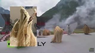 Церемония открытия тоннеля Сан Готардо - Начало нового мирового порядка - YouTube