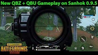 QBZ and QBU Gameplay on Sanhok   PUBG Mobile Lightspeed 0.9.5