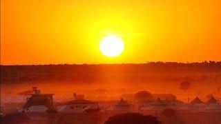 Sunset at Sam Sand Dunes, Jaisalmer Rajasthan