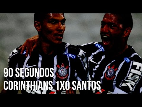 90 segundos | Corinthians 1x0 Santos