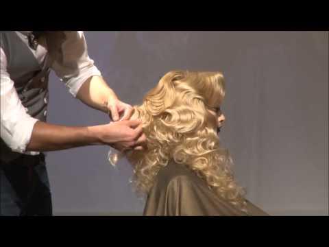 Farrux Shamuratov Turkey 2014 tutorial hair-show