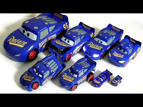 Disney Cars 3 Toys Fabulous Lightning McQueen Collection