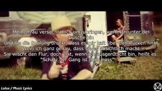 "Video thumbnail of ""Dame - Rosenkrieg / Lyrics"""