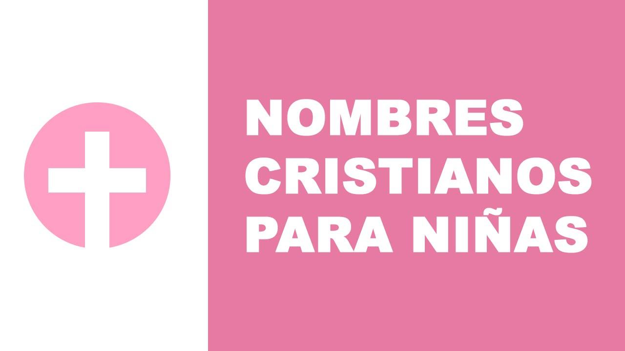Nombres cristianos para niñas
