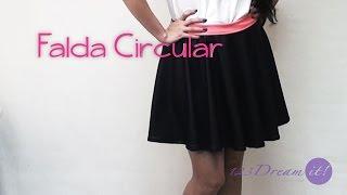 DIY Falda circular