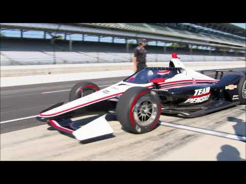 2019 IndyCar Aeroscreen Test at IMS