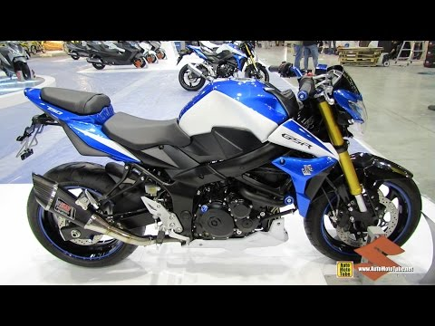2015 Suzuki GSR-750 - Walkaround - 2014 EICMA Milan Motorcycle Exhibition