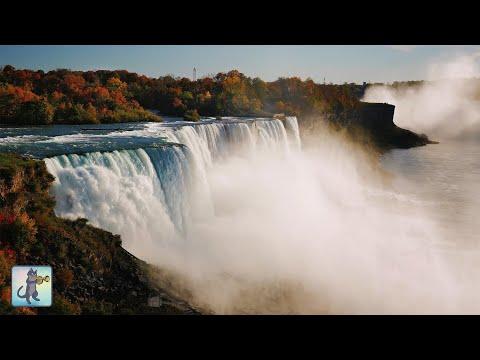 12 HOURS of Amazing Niagara Falls ~ Breathtaking Nature Scenery & Waterfall Sounds (No Music)