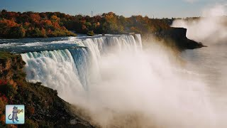 12 HOURS of Amazing Niagara Falls ~ Breathtaking Nature Scenery & Waterfall Sounds (No Music)