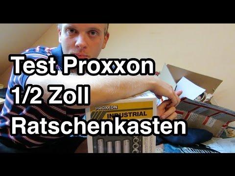 Test Proxxon Steckschlüsselsatz 23000   Steckschlüsselsatz Test   Knarrenkasten Test   Proxxon Test