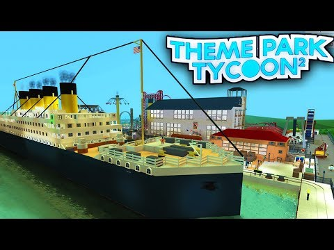 BUILDING MY OWN ROBLOX THEME PARK!! | Roblox - DanTDM - Video