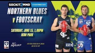 Rd 11 VFL: Northern Blues V Footscray