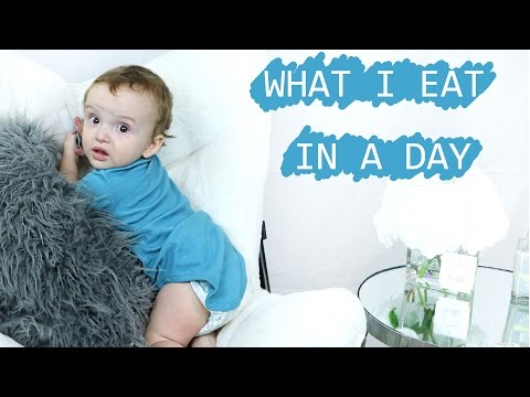 Video WHAT I EAT IN THE DAY | 10 MONTH OLD EDITION