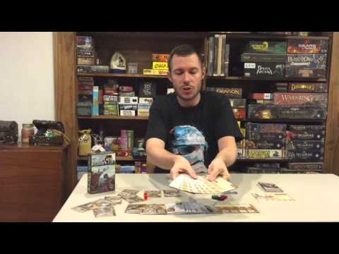 HARBOUR board game review