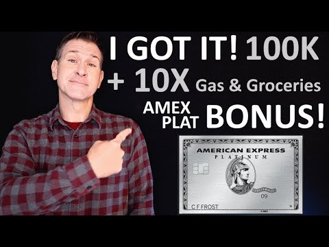 APPROVED for the 100K American Express Platinum Bonus + 10X Gas/Groceries! Amex Platinum Card FTW!