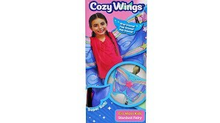 Cozy Wings Stardust Fairy Blanket Unboxing Toy Review