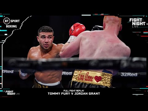 Томми Фьюри – Джордан Грант / Tommy Fury vs. Jordan Grant