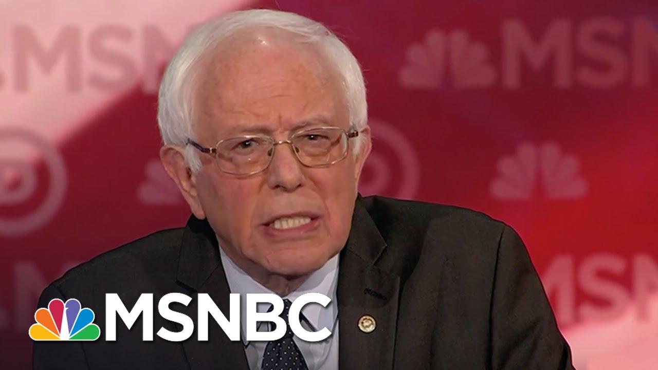 Bernie Sanders: Break Big Banks Up | Democratic Debate | MSNBC thumbnail