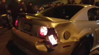Crenshaw takeover | Killer Mustang goes into the Crowd | Driftin Donuts