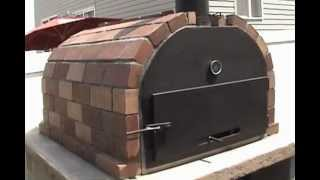 Brick N Flame Wood Fire Brick Oven By Mr Energy