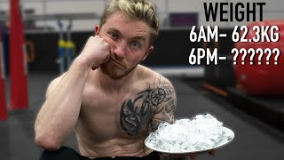 I only ate 'ICE' for 24 Hours!? {Olympic Gymnast}