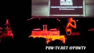 "Angel Haze Performs ""Drop It"" & ""Gossip Folks"" Cover In NYC"