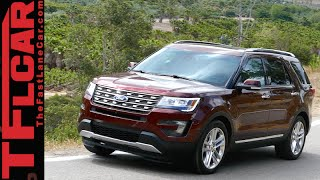 2016 Ford Explorer First Drive Review: New Style & Engine, Same Utility