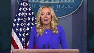 Kayleigh McEnany holds a White House press briefing 12/15/20