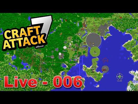XXL SERVER RUNDTOUR - Wir besuchen ALLE BASEN! - Craft Attack 7 LIVE #006