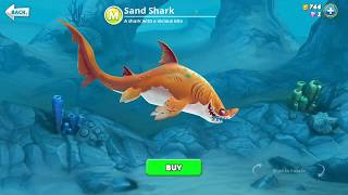 hungry shark world, Sand Shark (3D Motion)