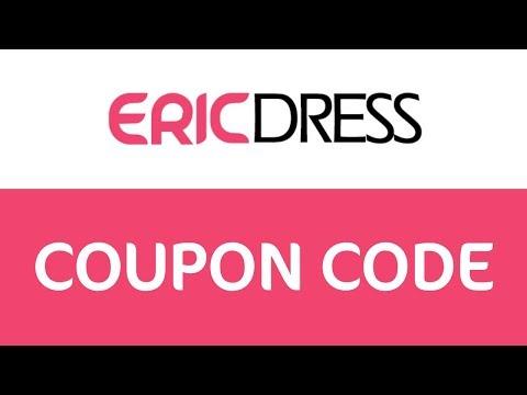 , title : 'EricDress Coupon code'